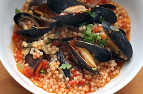 mussels-with-couscous