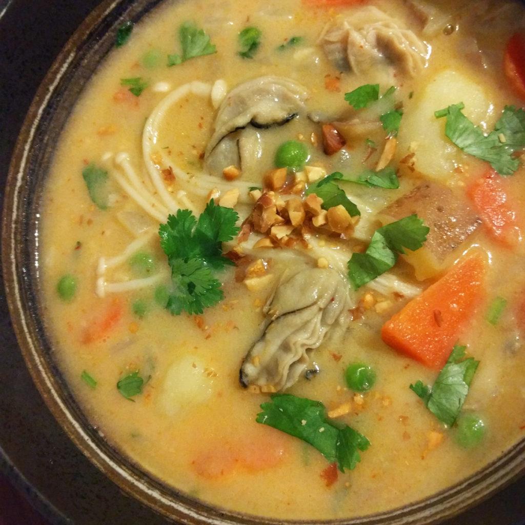 curry oyster chowder