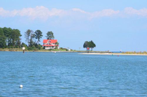 Chesapeake Bay oyster farm